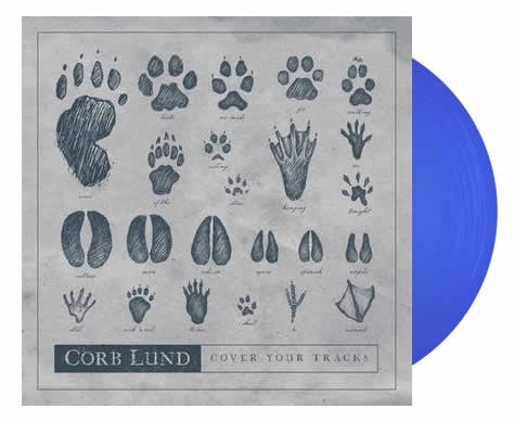 NEW - Corb Lund, Cover Your Tracks RSD Blue EP