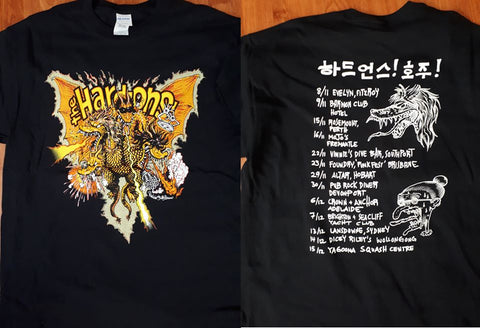 Hard-Ons (The) Band Official Tour T-Shirt