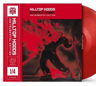 NEW - Hilltop Hoods, State of the Art (Instumental) Blood Red 2LP