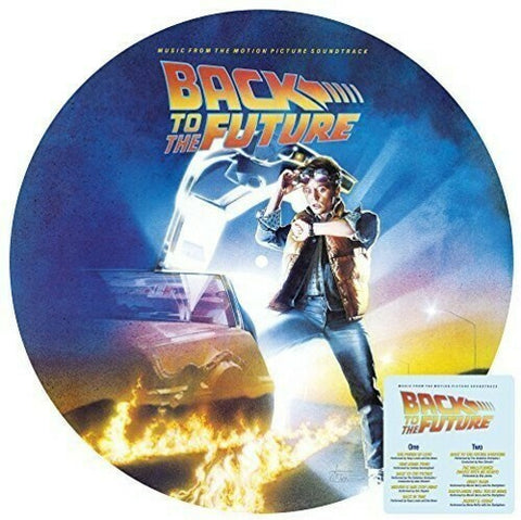 *NEW - Soundtrack, Back to the Future Pic Disc LP