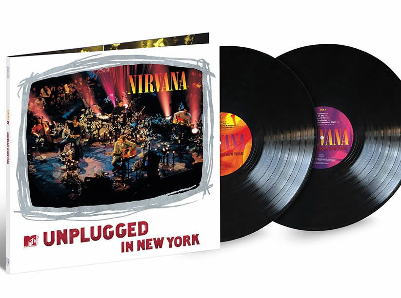 NEW - Nirvana, MTV Unplugged - 25th Anniversary 2LP (UMA)