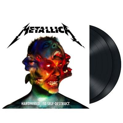 NEW - Metallica, Hard.. Wired to Self Destruct Black 2LP