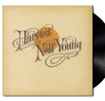 NEW - Neil Young, Harvest LP (Reissue)