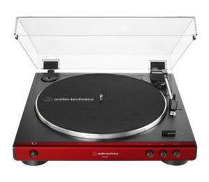 Audio Technica LP60X Fully Automatic Turntable (Red)