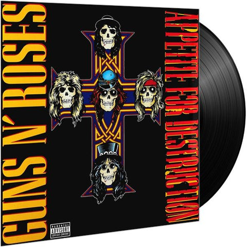 *NEW - Guns N Roses, Appetite for Destruction LP