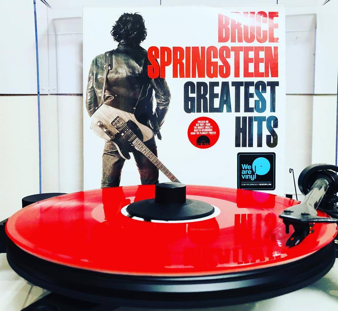 NEW - Bruce Springsteen, Greatest Hits (Red Vinyl)