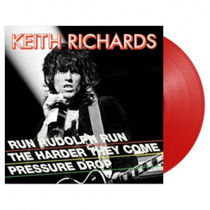NEW - Keith Richards, Run Rudolph 12""