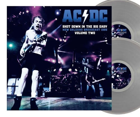 NEW - AC/DC, Shot Down in The Big Easy Vol.2 Ltd Clear 2LP NOTE: DUE 15th Jan 2021