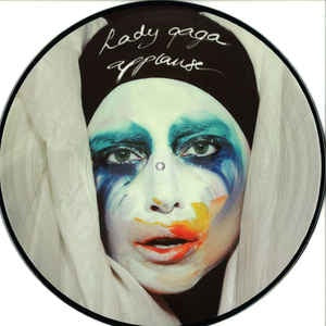 NEW - Lady Gaga, Applause Picture Disc