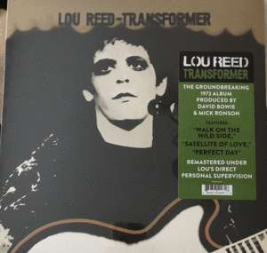 NEW - Lou Reed, Transformer LP