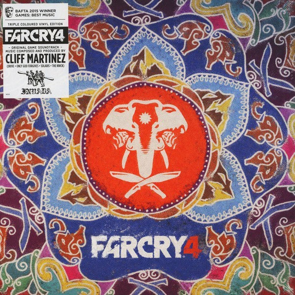 *NEW - Soundtrack,  Far Cry 4 OST Coloured 3LP