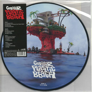 NEW - Gorillaz, Plastic Beach Picture Disc 2LP