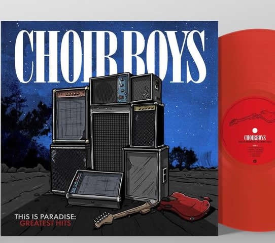 NEW - Choirboys, This is Paradise Ruby Red LP