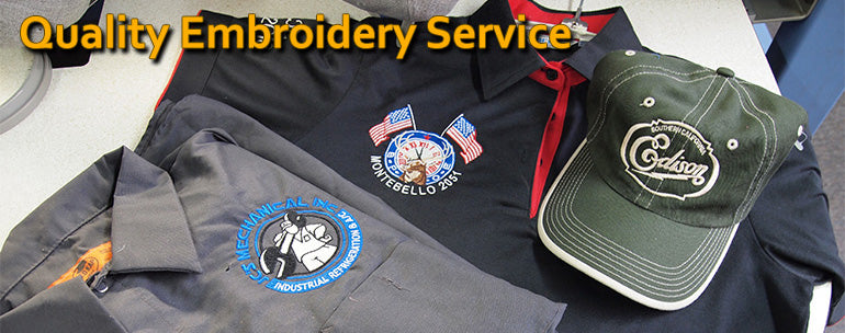 SunriseWear.com Offers Quality Embroidery Service