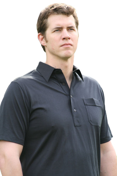 Style 1881 - Classic Cut Polo with Left Chest Pocket