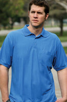 Style 2060 - Sunrise Classic Lightweight Pique Knit Polo Shirt