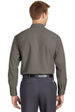 Custom Embroidered Red Kap Long Sleeve Industrial Work Shirt - SP14