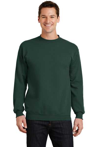 Custom Embroidered Fleece Crewneck Sweater Sweatshirt - 7.8 Oz - 4in x 4in Embroidery Included