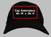 Hat Front Embroidery
