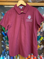 Custom Embroidered Ladies Classic Pique Polo Shirt