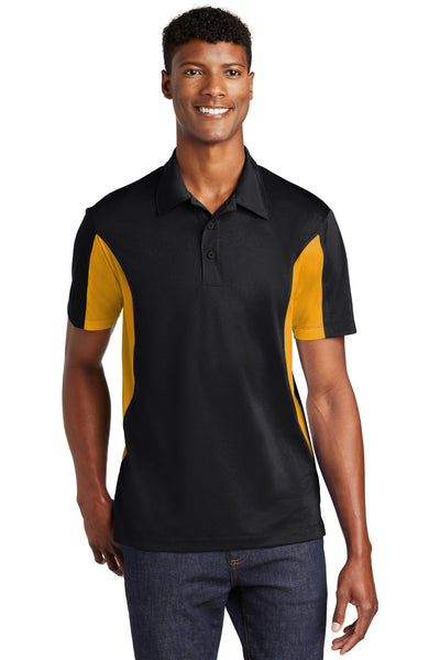 Custom Embroider Team Performance Polo Shirt - Two Tone Shirt - Moisture Wicking with 4in by 4in Embroidery