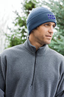 Custom Embroider Beanie - Personalize this Knit Cap with your own Logo or Text - Great for Cold Weather Skull Cap