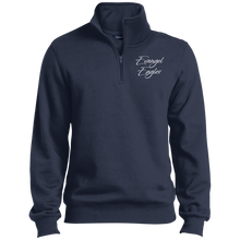 Load image into Gallery viewer, Evangel Eagles 1/4 Zip Sweatshirt