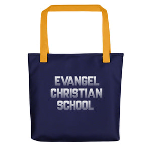 Evangel Christian School Tote bag