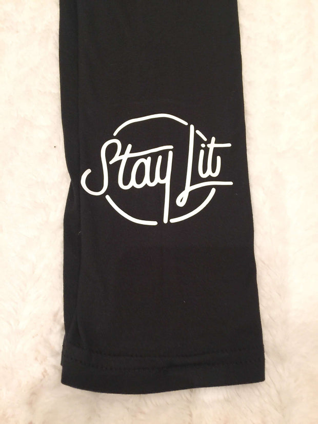 Womens StayLit Leggings Super Soft Custom Made
