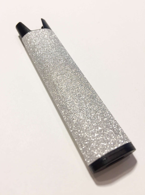 Stiiizy Pen Silver Glitter Battery Vape Pen Starter Kit