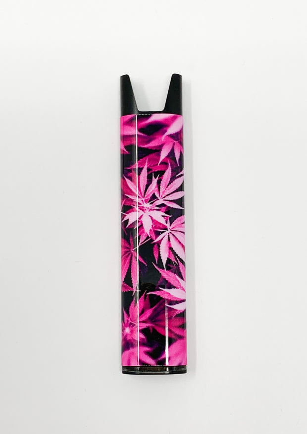 Stiiizy Pen Pink Weed Leaves Battery Vape Pen Starter Kit