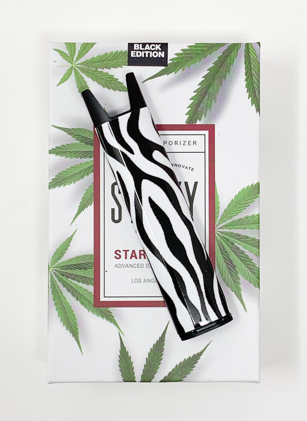 Stiiizy Pen Zebra Print Battery Starter Kit