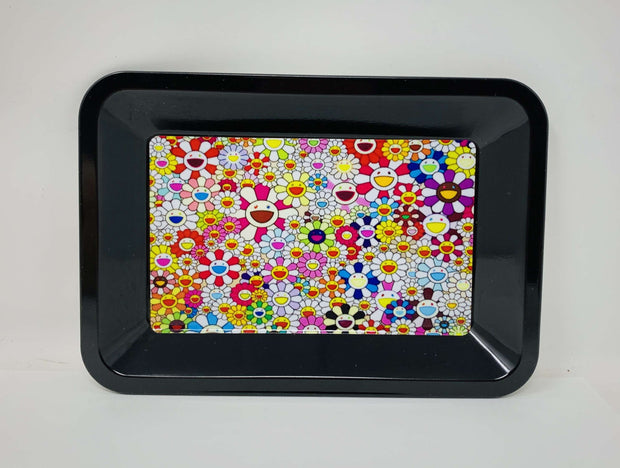 Murakami Flowers Weed Rolling Tray