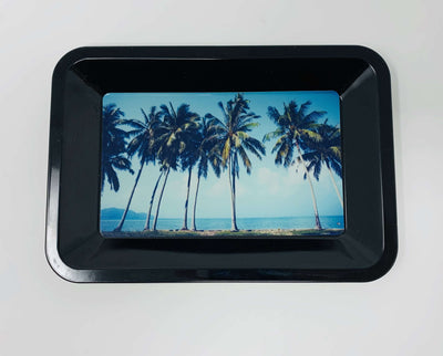 California Palm Trees Weed Rolling Tray