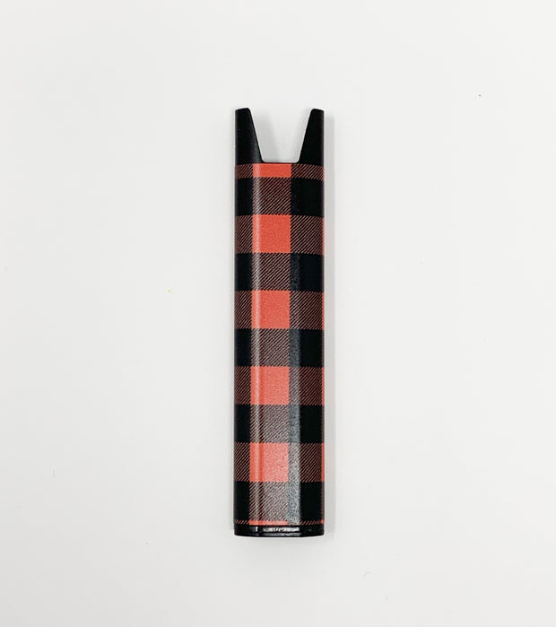 Stiiizy Pen Buffalo Plaid Red Black Battery Vape Pen Starter Kit