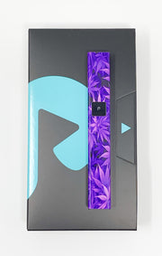 PlugPlay Purple Weed Leaves Battery Starter Kit