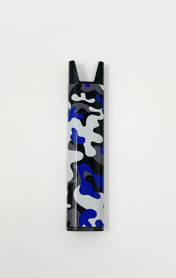 Stiiizy Pen Blue Camouflage Battery Vape Pen Starter Kit
