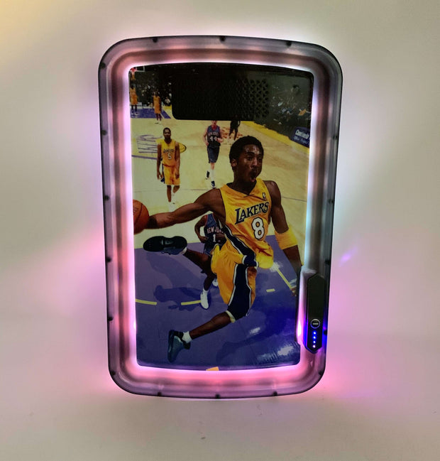 Kobe Mamba Dunk LED Rolling Tray Featuring 7 Colors and Party Mode