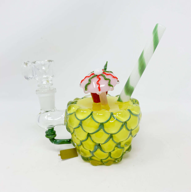 Empire Glassworks Pineapple Paradise Water Hand Pipe/Dab Rig