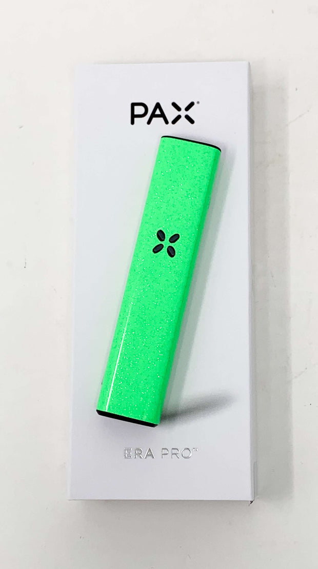 Pax Era Pro Battery Neon Green Glitter Vape Pen