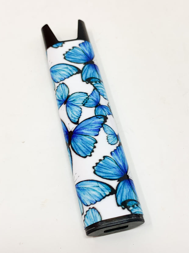 Stiiizy Pen Blue Butterflies Battery Starter Kit