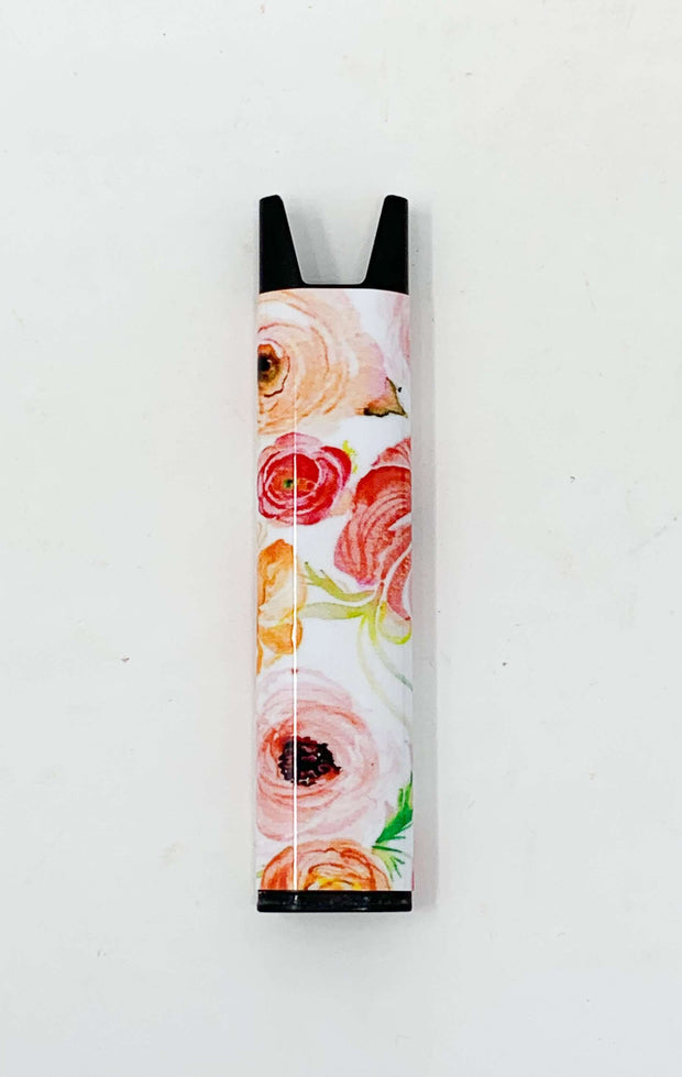 Stiiizy Pen Coral Floral Battery Starter Kit