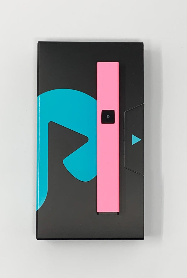 PlugPlay Matte Pink Glow In The Dark Battery Starter Kit