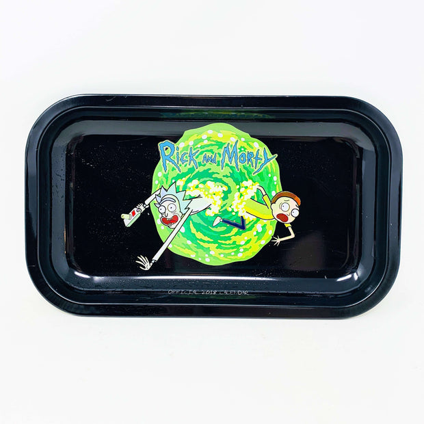 Rick N Morty Wormhole Rolling Tray