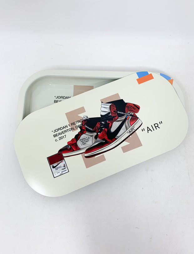 Jordan 1 Retro Off White Rolling Tray