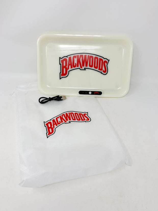 Backwoods LED Rolling Tray