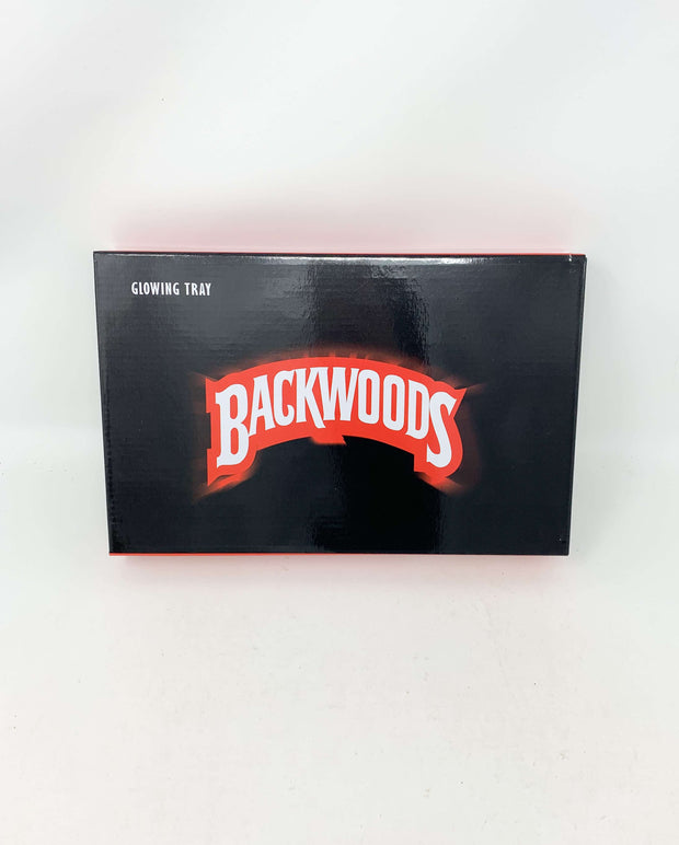 Green Backwoods LED Rolling Tray