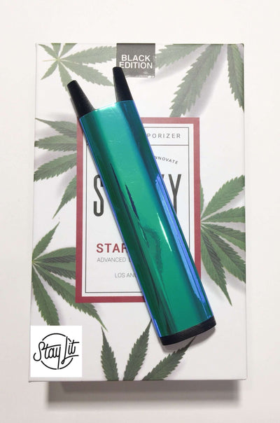 Blue Green Holographic Stiiizy Battery