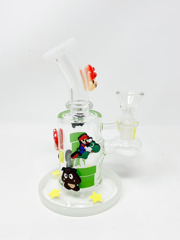 Super Mario 6.5in Water Pipe/Dab Rig