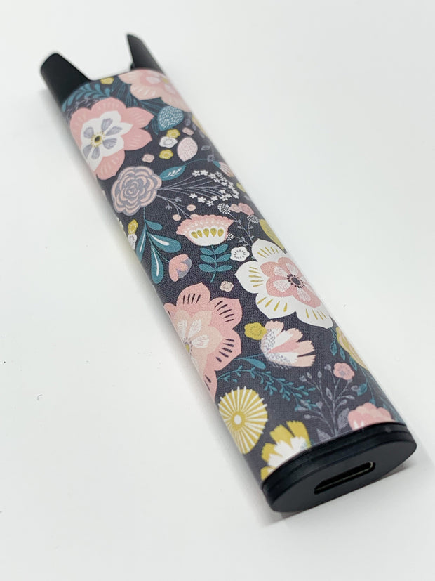 Stiiizy Pen Dark Vintage Floral Battery Vape Pen Starter Kit